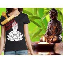 Tee-shirt Femme imprimé bouddha