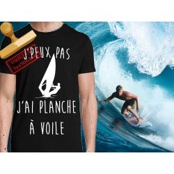 Tee-shirt imprimé planche à voile
