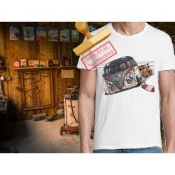 Tee-shirt Combi Vs Porshe 911