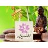 Tote Bag Organic Zen Namasté Fleur de Lotus