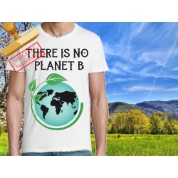 Tee-shirt There is No Planet B