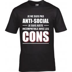 tee-shirt Anti-Social
