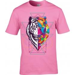 tee-shirt Tigre Cubique
