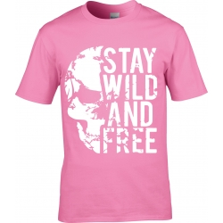 tee-shirt Stay Wild & Free