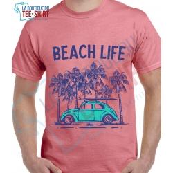 tee-shirt Beach Life Cox