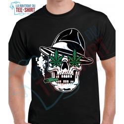 tee-shirt Skull CBD