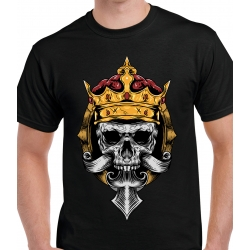 tee-shirt King Of Skull