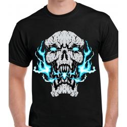 tee-shirt Electrical Skull