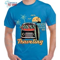 tee-shirt Travelling Beach Surfing