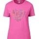 tee-shirt Coupe Femme Coeur Yoga