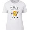 tee-shirt Coupe Femme J'peux j'ai Yoga
