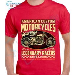 tee-shirt Legendary Racers